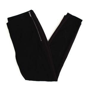 White House Black Market Black Suede Skinny Pants